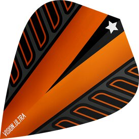 Target Voltage Vision Ultra Dart Flight Kite Orange Neu 2018