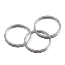Target Pro Grip Shaft Ring Silber Shaft Ringe Alu Silber