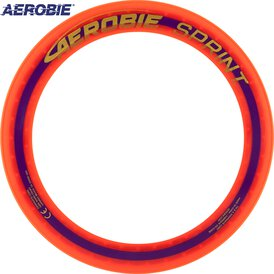 Aerobie Sprint Wurfring Flying Ring 25 cm Orange
