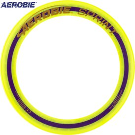 Aerobie Sprint Wurfring Flying Ring 25 cm Gelb