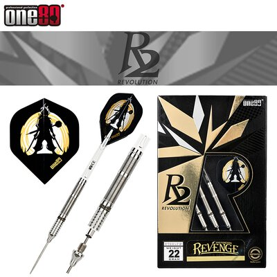 one80 Steel Darts Revenge Revolution R2 VHD Steeltip Dart Steeldart