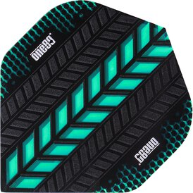 one80 Axis Dart Flights Aqua Neu 2017 Design 6
