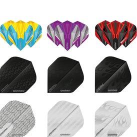 Winmau Prism Delta Dart Flight in verschiedenen Designs