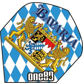 one80 Bavaria Flights Bayerische Flagge Wappen Design 1