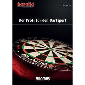 Karella Winmau Harrows Dart Hauptkatalog 2018 / 2019