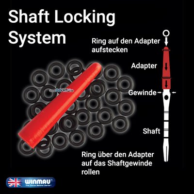 Winmau Shaft Locking System