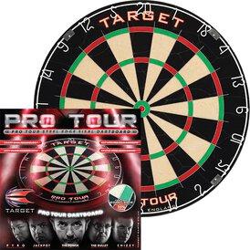 Target Pro Tour Bristle Dart Board Dartboard Turnierboard...