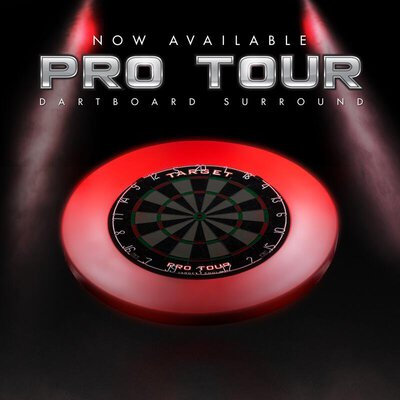 Target Pro Tour Dartboard Surround / Dart Catchring in verschiedenen Farben