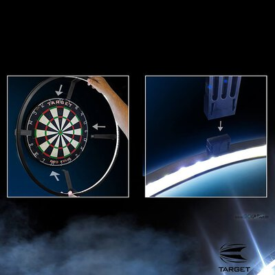 Target Corona Vision Dartboard LED Beleuchtungs System