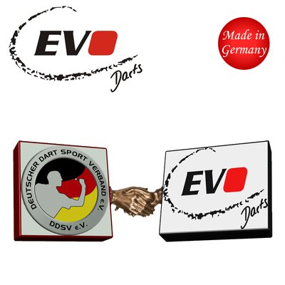Evolution Original EVO Dartspitzen 2BA lang Softtips Soft Tips long 100 oder 500 Stück Pack