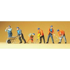 Gleisbauarbeiter Preiser Figuren 1:43 65336