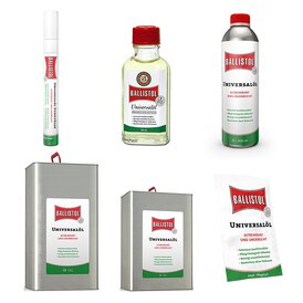 Ballistol Universalöl in verschiedenen Ausführungen