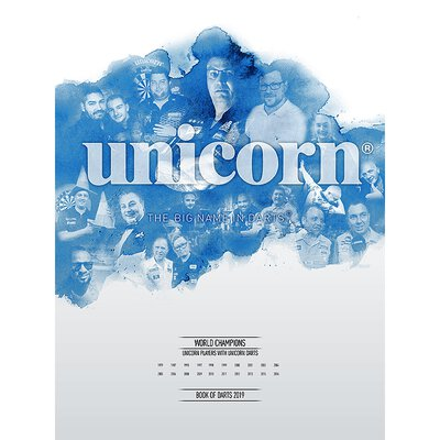 unicorn Book of Darts Haupt- Katalog 2019