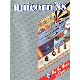 unicorn Book of Darts Haupt- Katalog 1988