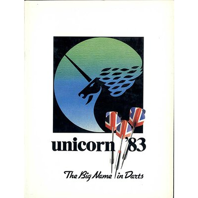 unicorn Book of Darts Haupt- Katalog 1983