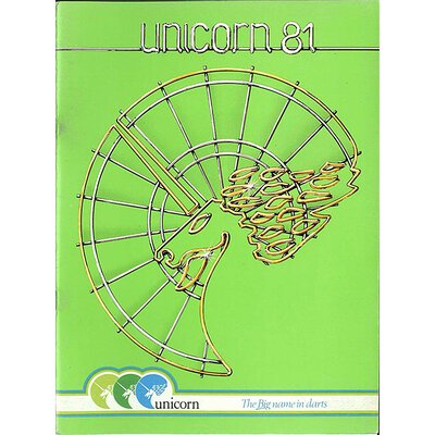 unicorn Book of Darts Haupt- Katalog 1981
