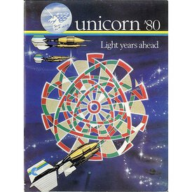 unicorn Book of Darts Haupt- Katalog 1980