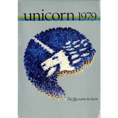 unicorn Book of Darts Haupt- Katalog 1979