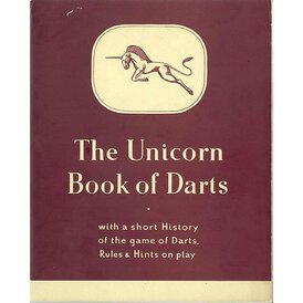 unicorn Book of Darts Haupt- Katalog 1950