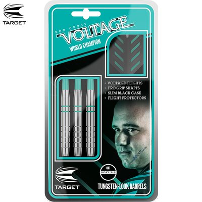 Target Soft Darts Rob Cross Silver Voltage 2018 Softtip Darts Softdart 18 g