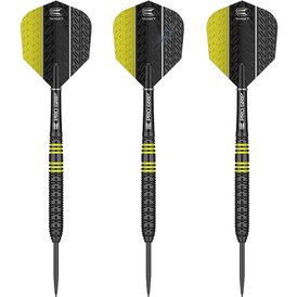 Target Steel Darts Vapor8 Black Yellow 2018 Steeltip...