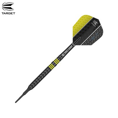 Target Soft Darts Vapor8 Black Yellow 2018 Softtip Darts Softdart 19 g
