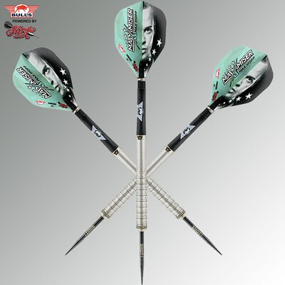 BULLS Steel Darts Bull´s powered by Shot Darts Max Hopp 90% Max90 2.0 Gen 2 Steeltip Darts Steeldart 22 g