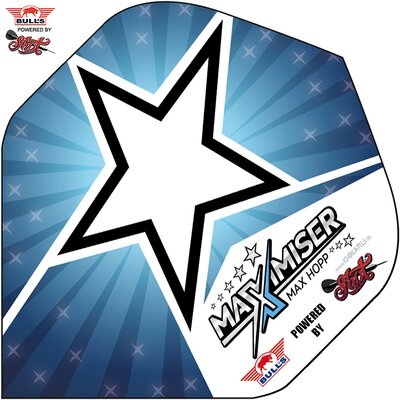 BULLS Powerflite Bull´s powered by Shot Dart Flights Max Hopp verschiedene Designs