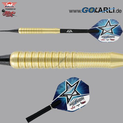BULLS Soft Darts Bull´s powered by Shot Darts Max Hopp Brass Messing Softtip Darts Softdart 20 g