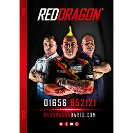Red Dragon 2018 Product Launch RedDragon Dart Katalog 2018