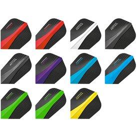 Harrows Retina Dart Flight speziell laminiert 5 Stück 3er...