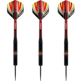 Winmau Steel Darts Outrage Brass Messing Schwarz Steeltip...