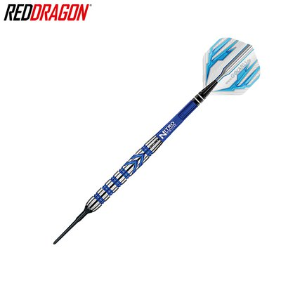 Red Dragon Soft Darts Gerwyn Price PVD Blue 90% Softtip Dart Softdart