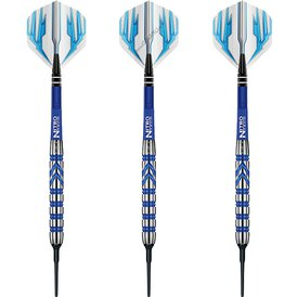 Red Dragon Soft Darts Gerwyn Price PVD Blue 90% Softtip...