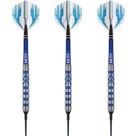 Red Dragon Soft Darts Gerwyn Price PVD Blue 90% Softtip...
