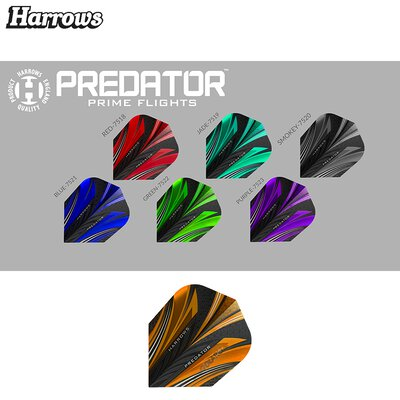 Harrows Predator Prime Dart Flight Rot