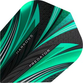 Harrows Predator Prime Dart Flight Jade