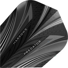 Harrows Predator Prime Dart Flight Smokey