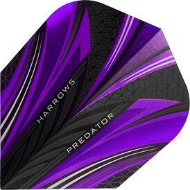 Harrows Predator Prime Dart Flight Lila