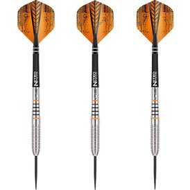 Red Dragon Steel Darts Richard North Lionheart 90%...