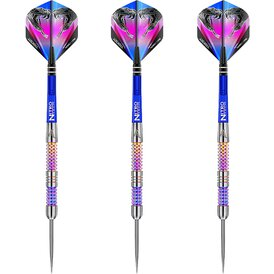 Red Dragon Steel Darts Peter Wright Snakebite Rainbow...