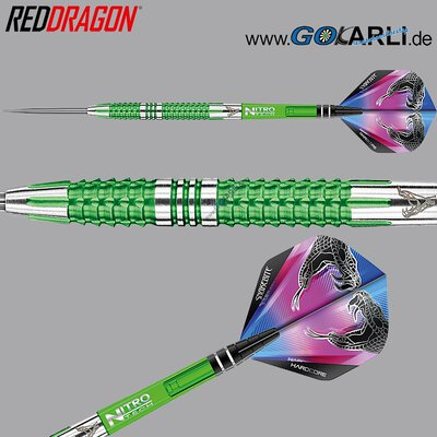 Red Dragon Steel Darts Peter Wright Snakebite Mamba 2 Steeltip Dart Steeldart