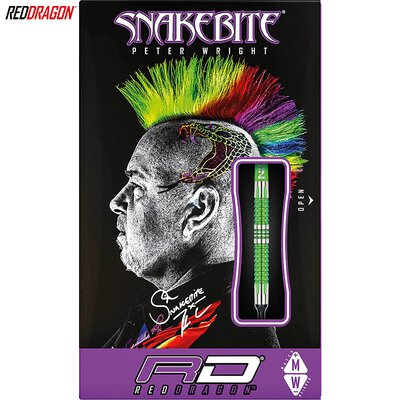 Red Dragon Soft Darts Peter Wright Snakebite Mamba 2 Softtip Dart Softdart