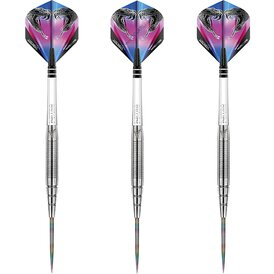 Red Dragon Steel Darts Peter Wright Snakebite PL15 Silver...