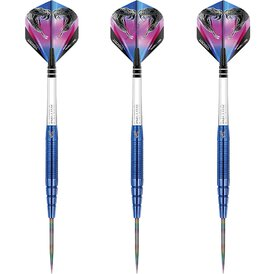 Red Dragon Steel Darts Peter Wright Snakebite PL15 Blue...