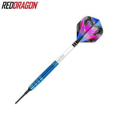 Red Dragon Soft Darts Peter Wright Snakebite PL15 Blue Softtip Dart Softdart 18 g