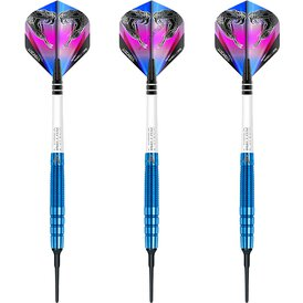Red Dragon Soft Darts Peter Wright Snakebite PL15 Blue...