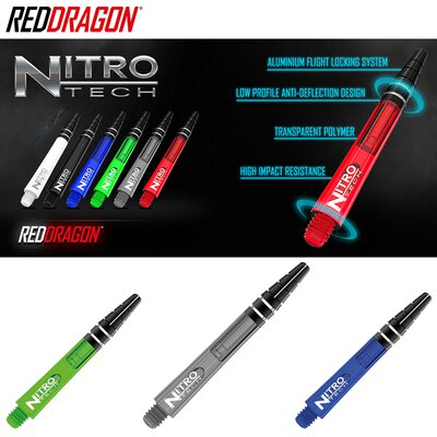 Red Dragon Nitrotech Shaft in verschiedenen Designs