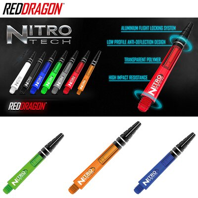 Red Dragon Nitrotech Shaft Weiß S Kurz