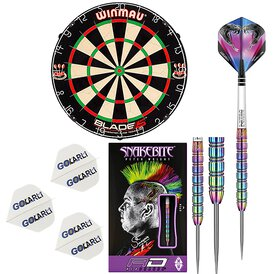 Winmau Blade 5 Dart Board incl.Red Dragon Peter Wright...